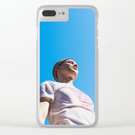 Tommy Dorfman at NYC World Pride Clear iPhone Case