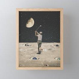 Golf Framed Mini Art Print