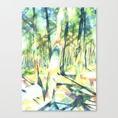 Scenes from the Forest Canvas Print