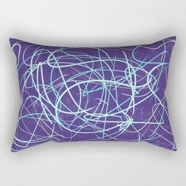 Cold Frustration Rectangular Pillow