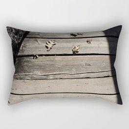 Pensive Autumn Rectangular Pillow