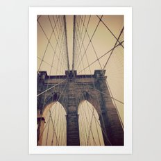Brooklyn Web Art Print