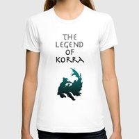 the legend of korra T-shirts featuring The Legend of Korra [1/2] by Shane Lewis
