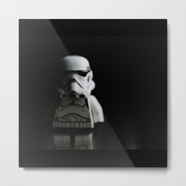 Dark Trooper Metal Print