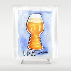 IPA Snob Shower Curtain