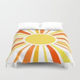 Let the sunshine in Duvet Cover