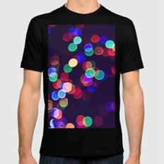 most wonderful time of the year MEDIUM Black Mens Fitted Tee