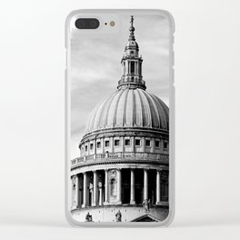 London ... St. Paul's Cathedral Clear iPhone Case