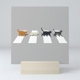 Kitty Road Mini Art Print