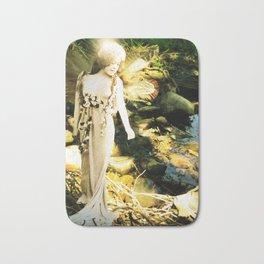 Naida the River Fairy Wood Nymph Bath Mat