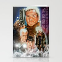 blade runner Stationery Cards featuring Blade runner by calibos