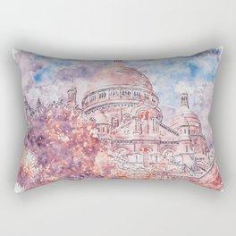 Paris Panorama Rectangular Pillow