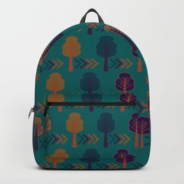 Trees and arrows Backpack