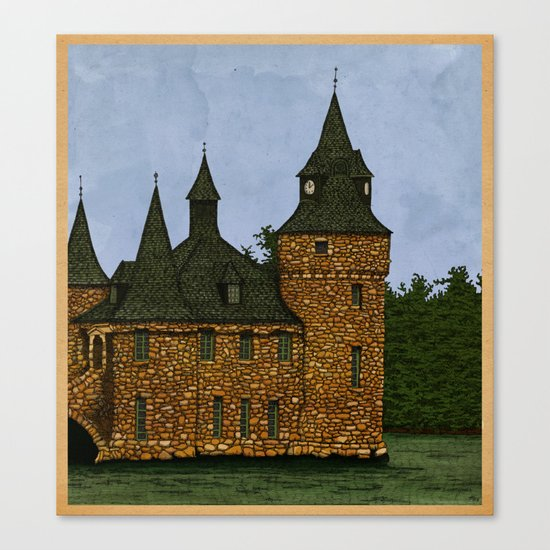 Jethro's Castle Canvas Print