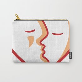 Heart of Kiss Carry-All Pouch