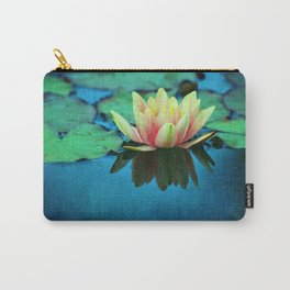 waterlily textures Carry-All Pouch