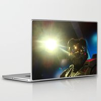 master chief Laptop & iPad Skins featuring Master Chief by Yajaira Gomez