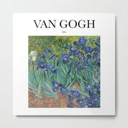 Van Gogh - Iris Metal Print