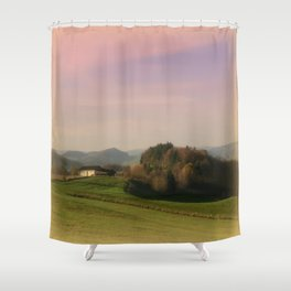 Landscape view Shower Curtain