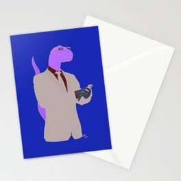 clever girl Stationery Cards
