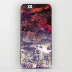 Abstract Encaustic I  /  Encaustique abstrait I  /  Encáustica abstracto I iPhone & iPod Skin