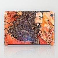the hobbit iPad Cases featuring The Hobbit - Dragon Sickness by lorna-ka