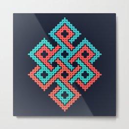 Longevity node Metal Print