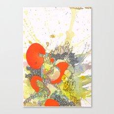 Orange Pathway Canvas Print