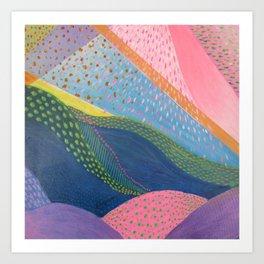 """Corales"" Marisa Moscoso Art Print"