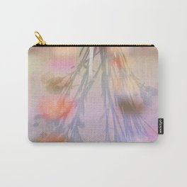 Rainbow Carnations Carry-All Pouch