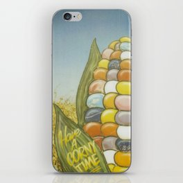 Have a Corny Time iPhone Skin