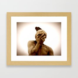 The Unwanted Guest Framed Art Print