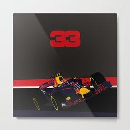 Max Verstappen, race winner Malaysia 2017 Metal Print