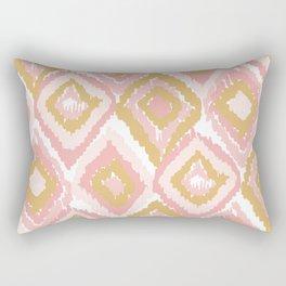 Golungo Alto Pink pattern Rectangular Pillow