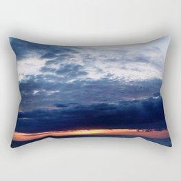 Invasion Orange Rectangular Pillow