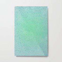 Wild green cavity Metal Print
