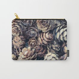 Tiny Pinecones Carry-All Pouch