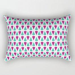 Something Curvy Rectangular Pillow