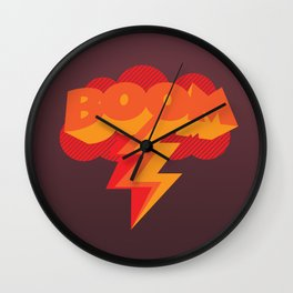 With One Magic Word... Wall Clock