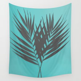 Palm Leaves #1 #Mint #decor #art #society6 Wall Tapestry