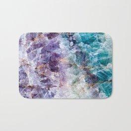 crystals  Bath Mat