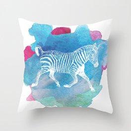 Color Spot Safari Zebra Throw Pillow