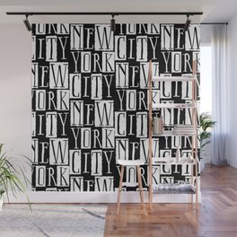 In a New York City Frame of Mind Wall Mural