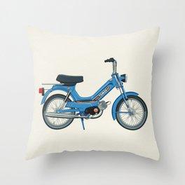 Motorbike Automatic 3 MS - Tomos Throw Pillow