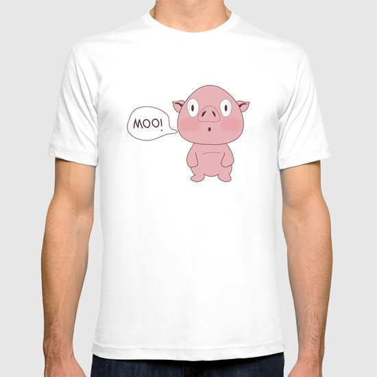 SOLD!! Confused Pig T-shirt