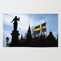 stockholm Area & Throw Rugs featuring Stockholm by Mark Hill