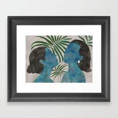 palmiye ( trabzon hasırı & kazaziye ) Framed Art Print