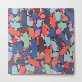 Brush strokes pattern #10 Metal Print