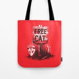 Free cat Tote Bag