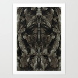 Rorschach Stories (7) Art Print